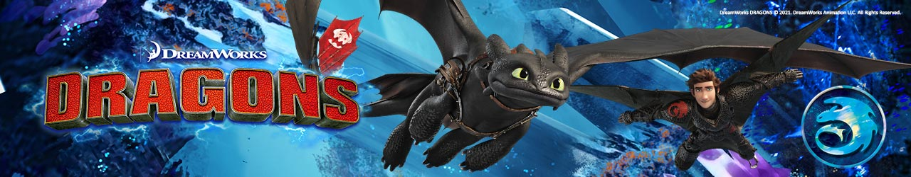 Drachen zähmen leicht gemacht im Dragons Fanshop