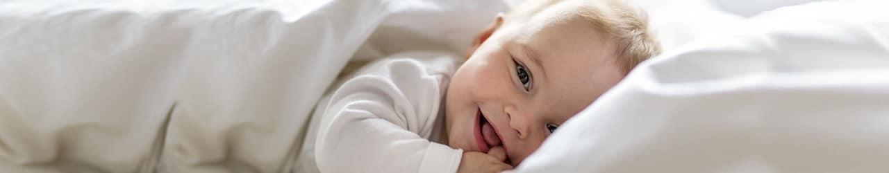 Babys lieben die babybest Heimtextilien.
