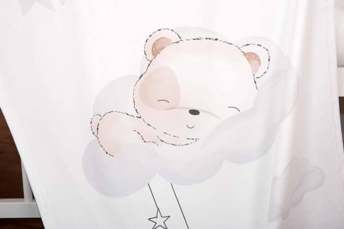 Produktbild Kuscheldecke sleeping little bear weiß Decke