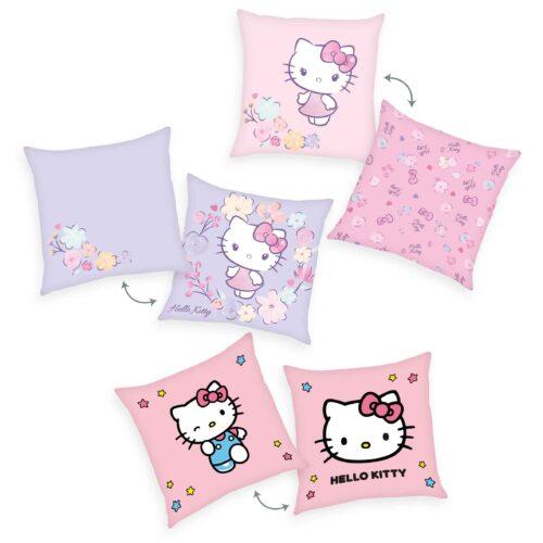 Produktbild Dekokissen 3er-set Hello Kitty rosa Kissen Vorderseite Rückseite