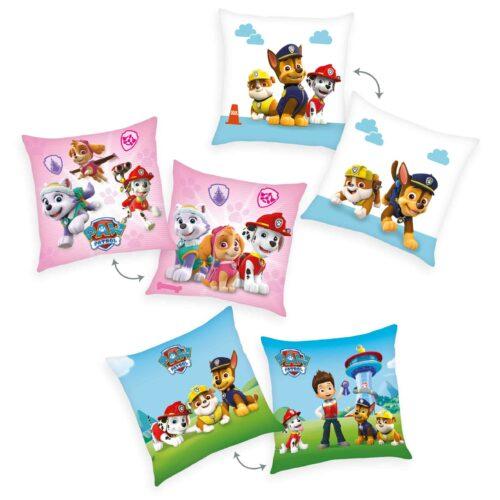 Produktbild Deko Kissen 3er-set Paw Patrol Mehrfarbig Kissen Vorderseite Rückseite