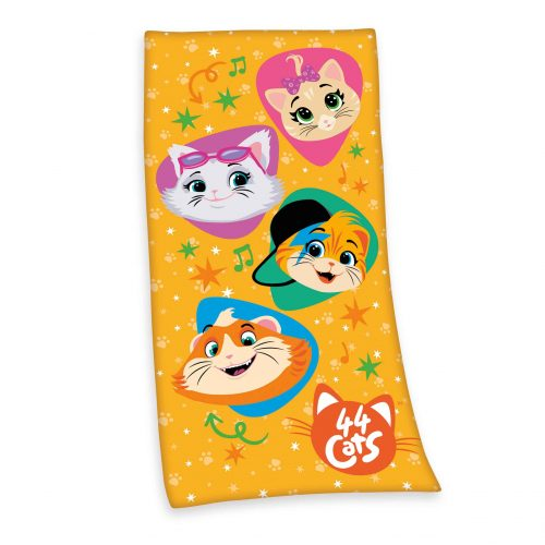 Produktbild Kinderhandtuch 44 cats Mehrfarbig Handtuch Vorderseite