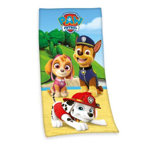 Produktbild Kinderhandtuch Paw Patrol Mehrfarbig Handtuch Vorderseite
