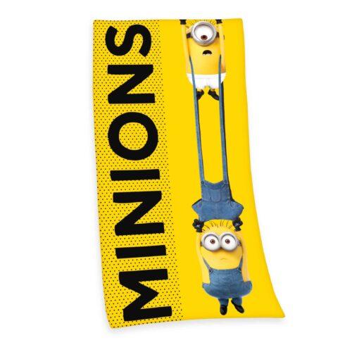 Produktbild Strandtuch Minions gelb Decke Vorderseite
