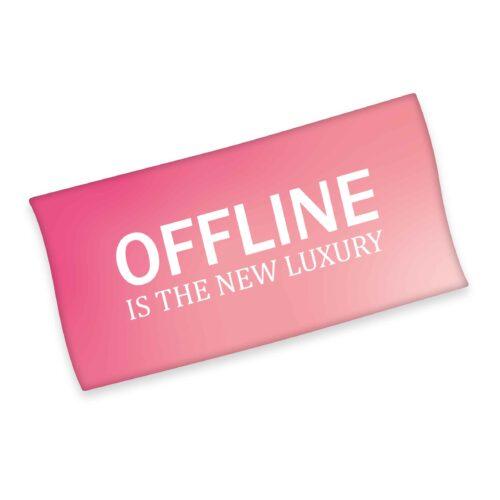 Produktbild Strandtuch offline pink Strandtuch Vorderseite