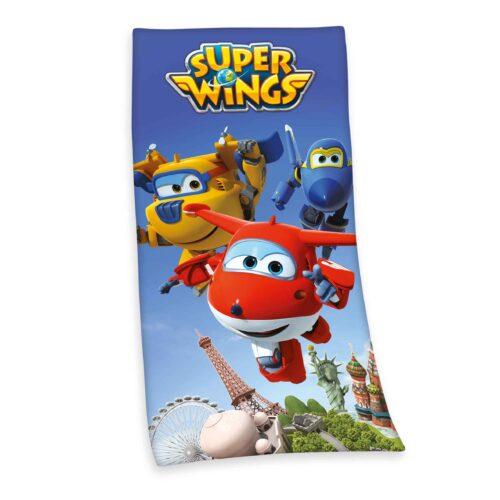 Produktbild Kinderhandtuch Super Wings Mehrfrabig Handtuch Vorderseite