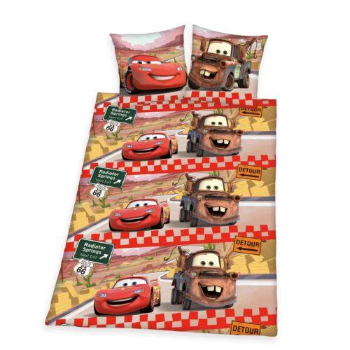 Produktbild Bettwäsche Disney cars rot Bettwäsche Vorderseite