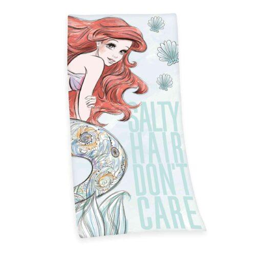 Produktbild Kinderhandtuch Disney Arielle Mehrfrabig Handtuch Vorderseite Rückseite