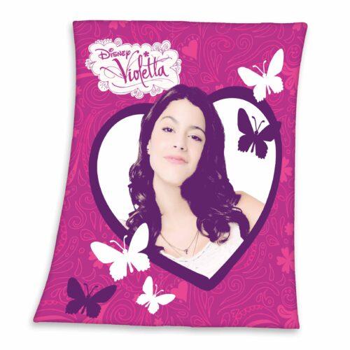 Produktbild Fleece Decke Violetta lila Fleece Decke Vorderseite