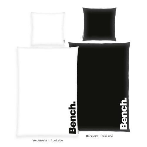 Produktbild Bench Bettwäsche Modern Opposite Schwarz 135x200 ganze Bettwäsche