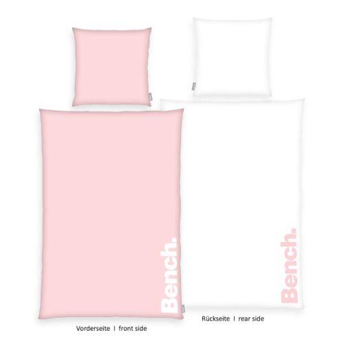Bench Bettwäsche Pastel Colours Rosa 135x200 ganze Bettwäsche
