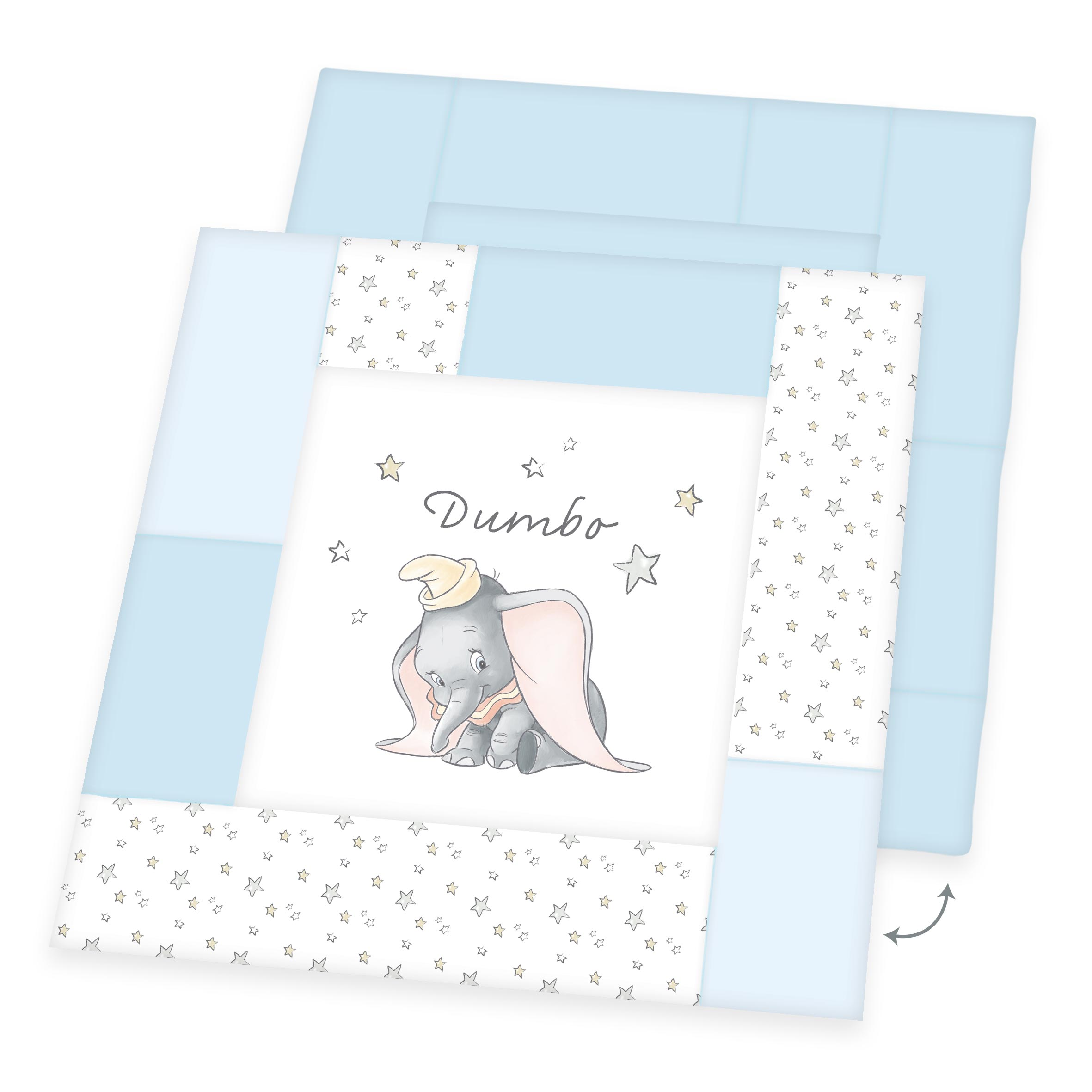 Produktbild Disney Krabbeldecke Baby Dumbo 115x115 ganze Bettwäsche