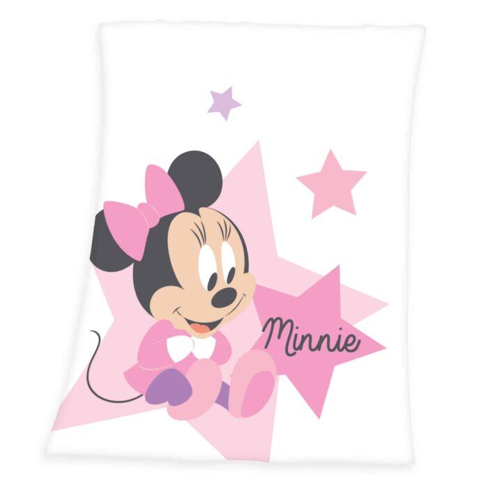 Produktbild Kuscheldecke Minnie Mouse 75x100 ganze Decke