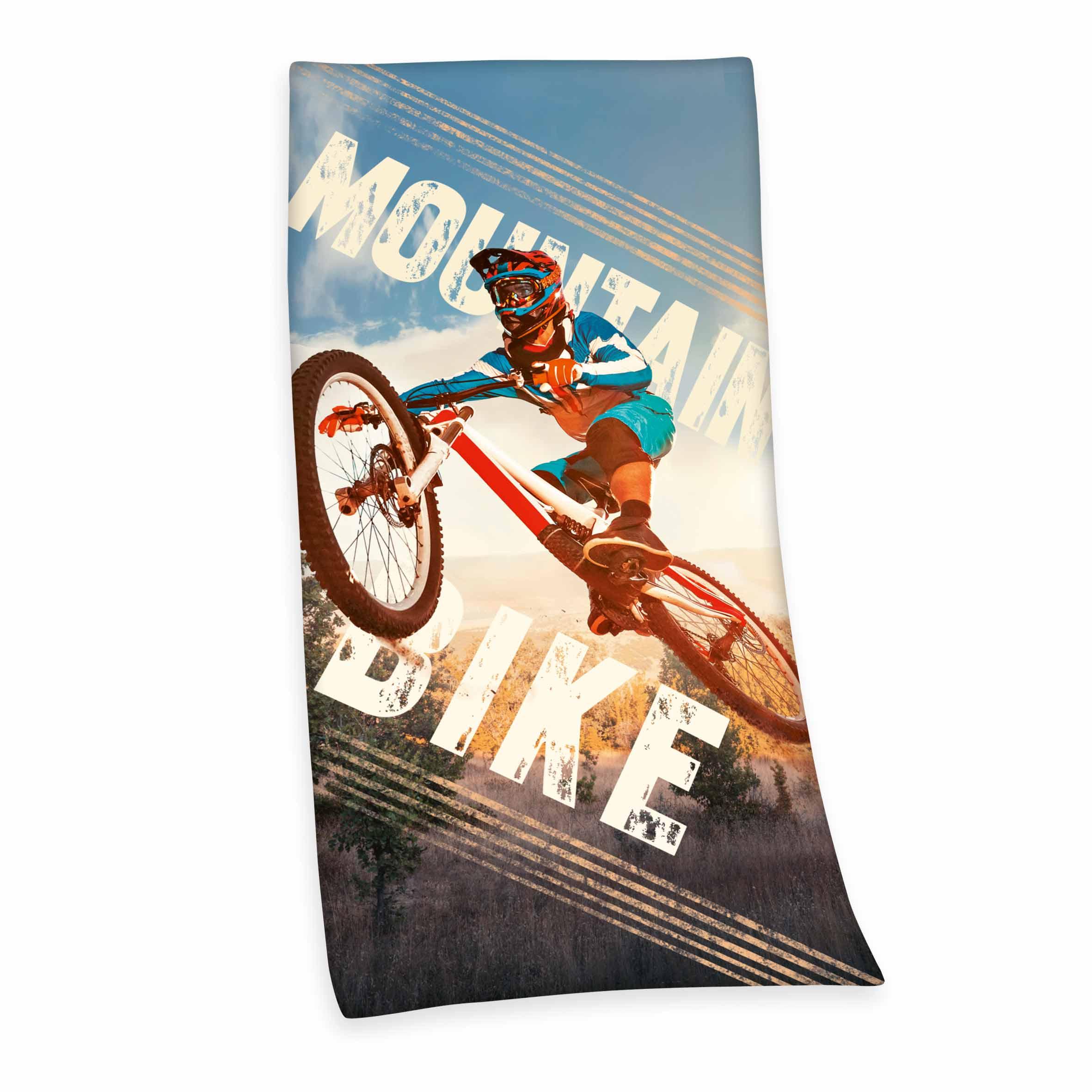 Produktbild Velourstuch Mountainbike Mehrfarbig ganzes Velourstuch