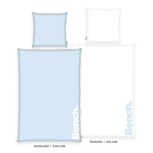 Produktbild Bench Bettwäsche Pastel Colours Blau 135x200 ganze Bettwäsche