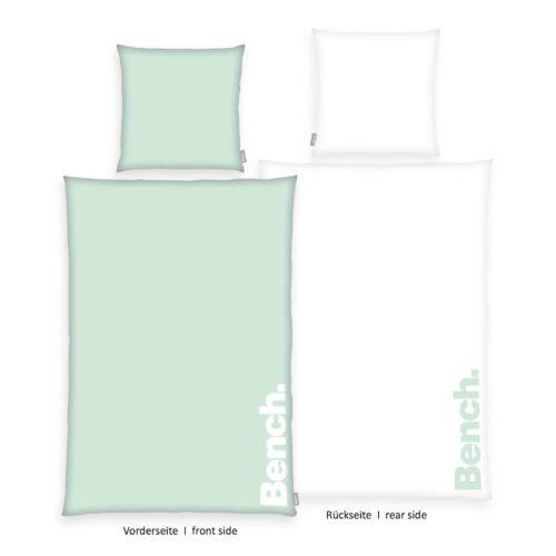 Produktbild Bench Bettwäsche Pastel Colours Grün 135x200 ganze Bettwäsche