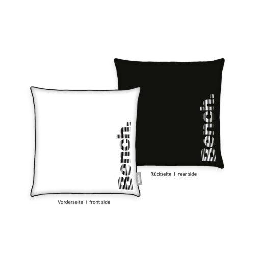Produktbild Bench Kissenhülle Samt Modern Opposite Schwarz ganzes Kissen
