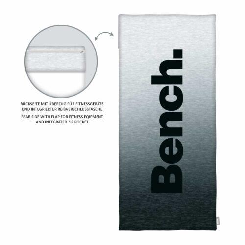 Produktbild Sport- und Fitnesstuch Modern Opposite Schwarz ganzes Tuch