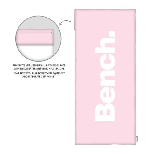 Produktbild Bench Sport- und Fitnesstuch Pastel Colours Rosa ganzes Tuch