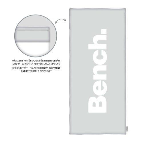 Produktbild Bench Sport und Fitnesstuch Urban Grey Grau ganzes Tuch