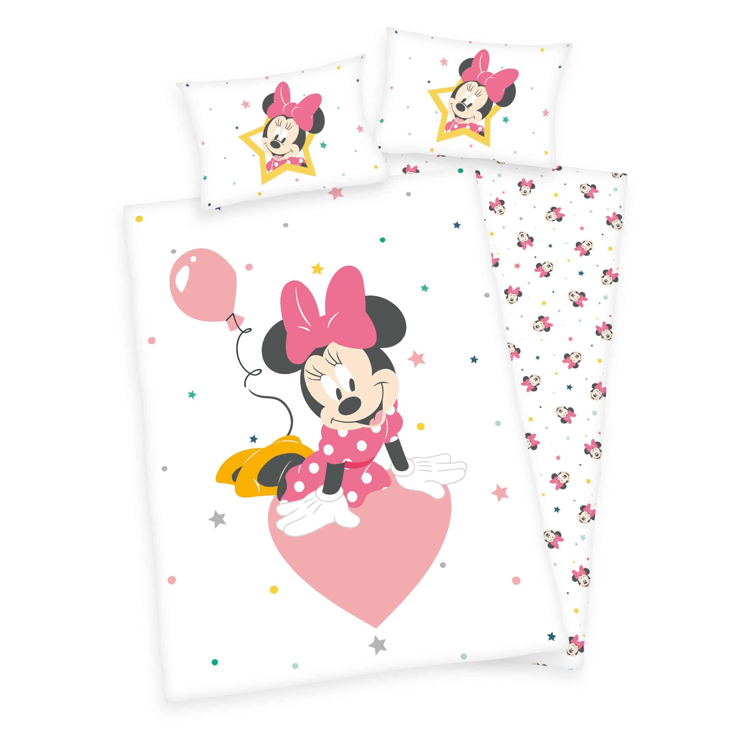 Produktbild Disney Bettwäsche Minnie Mouse ganze Bettwäsche